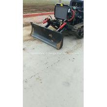 Tracteur à chenilles en caoutchouc agricole de haute qualité au Pérou