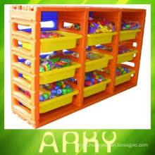 Kindergarten Kids Plastic Toy Shelves