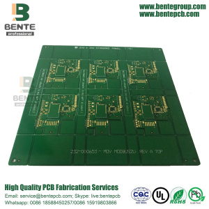 Fabrication multicouche de carte PCB de 4 couches 1oz à Shenzhen