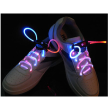 LED Shoelaces Colorful fashion led shoelace with battery