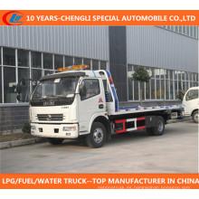 Camión de la recuperación del carro 4X2 del camión de auxilio de Dongfeng 4X2 Camión de la desmantelación de Dongfeng 4X2