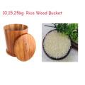 Acacia Wood Conical Shape Ricer Box