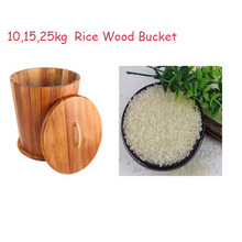 Acacia Wood Conical Shape Ricer Box