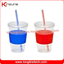 600ml single wall straw cup (KL-SC107)