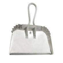 Industrial Aluminum Metal Dustpan with rolled handle