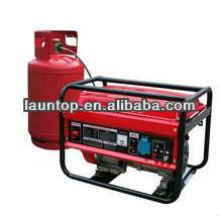 6000w / 6.0kw pequeno gerador de gás natural LPG6500 Liquefied Petroleum Gas
