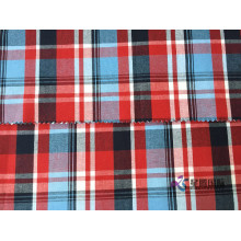 100% bawełny Plain Check Shirting Fabric