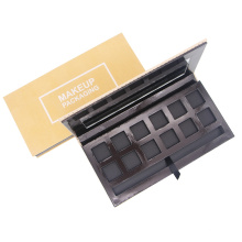Empty cardboard eyeshadow palette private label