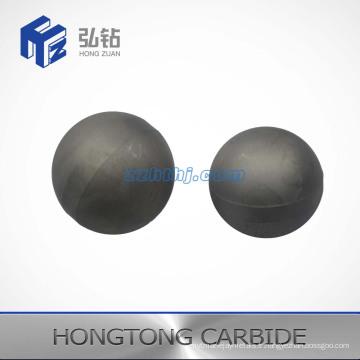 Taille différente de la balle et du siège en carbure de tungstène