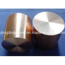 Électrode de tige d'alliage de cuivre de tungstène pour la soudure