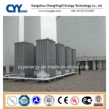 Flüssiger Sauerstoff Stickstoff Argon LPG LNG Hochdruck-Umgebungsverdampfer
