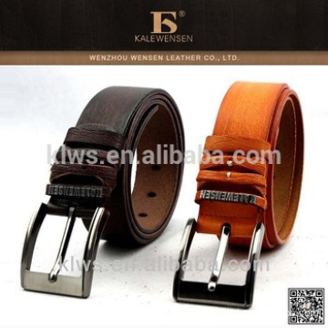 Promotional genuine wholesale leather belts