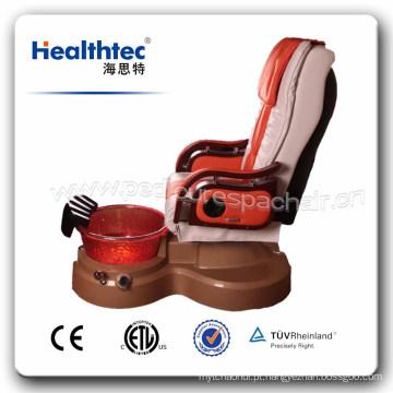 O salão de beleza caçoa a cadeira do pedicure dos TERMAS do pedicure dos TERMAS com jato magnético (D201-39)
