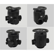 Válvula manual multipunto para suavizador de agua 61210 F64D
