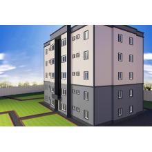 Multi-Floor Fertighaus / Light Steel Structure Prefab House (JW- 16228)