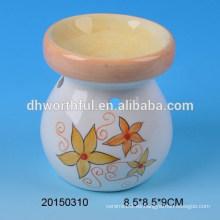 Quemador de incienso de cerámica colorida para la decoración casera