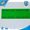 Cinta adhesiva de seguridad para el sellado de la bolsa de seguridad