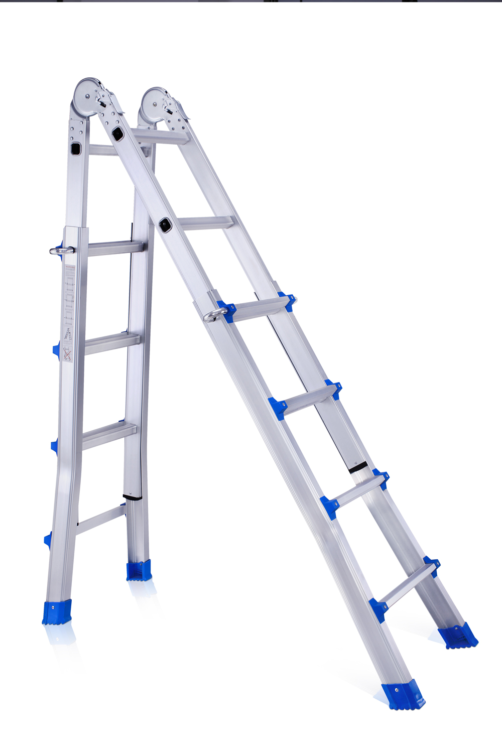 Aluminum little giant ladder