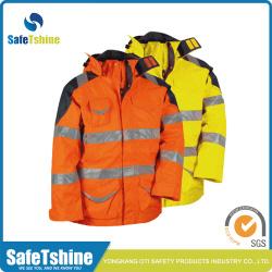 Safety reflective jacket heavy winter jackets
