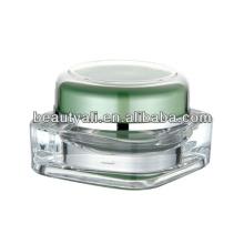 5g 15g 20g 30g 50g 75g 125g acrílico creme recipiente acrílico cosmético frasco vazio