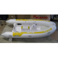 3.8m PVC Tube/Fiberglass Hall Rigid Inflatable Boat