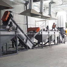 PET bottle crushing washing Waste recycling Line