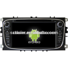 car dvd player,factory directly !Quad core android capacitive screen,GPS/GLONASS,OBD,SWC,wifi/3g/4g,BT,for Mondeo/s-max