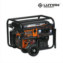 Uso doméstico 3.2-6.0kkw gerador de energia gasolina/gasolina portátil pequeno