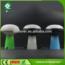 Forma de cogumelo para o presente da promoção 5 levou keychain lanterna tocha
