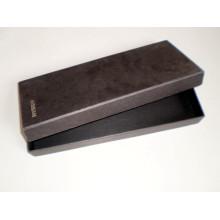 Boîte d'emballage de papier de blouses de conception faite sur commande d'usine avec le logo UV