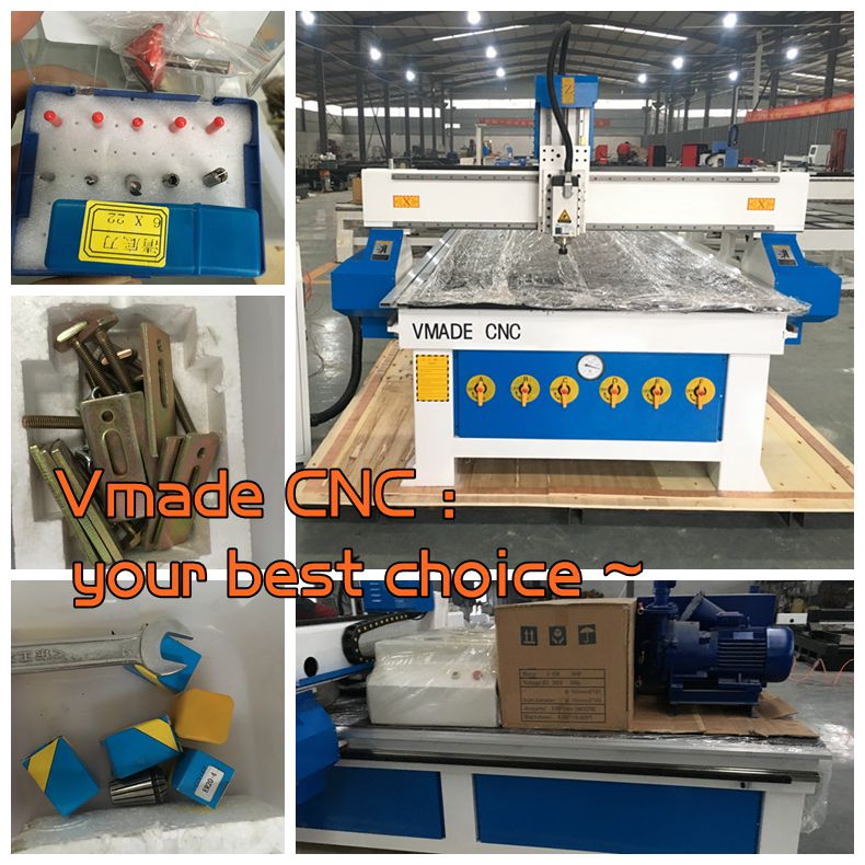 wood cnc router machine packing