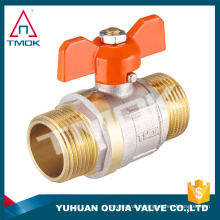 full port male/female brass ball valve and forged polishing brass boby DN15 and thread Hpb57-3 and high quality