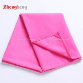 2018 Good Microfiber Suede Knitting Towel