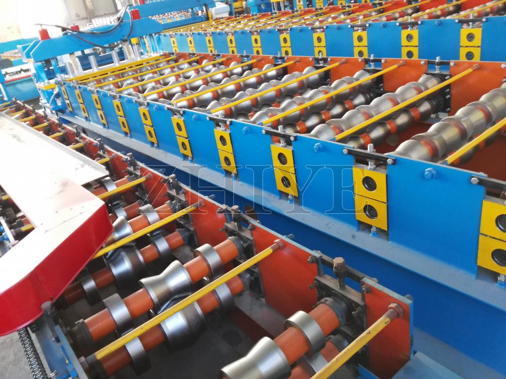 ZhiYe Glazowane Tiles Making Machine CE Standard Aluminium