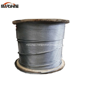 High Quality 6x19 Galvanzied Bright Steel Wire Rope