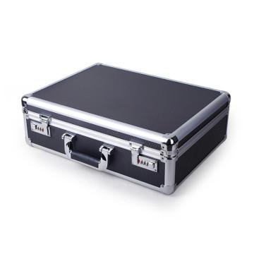 Exquisite Multipurpose Black Aluminum Alloy Equipment Box