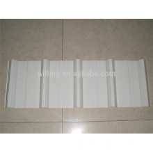 Trapezoidal Glazed Coated Wall Roof Panel Cold Rolled Steel Sheet
