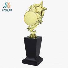 26.5 * 10cm Chine cadeau promotionnel personnalisé Star Star Trophy en artisanat en métal