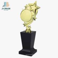 26.5*10cm China Promotional Gift Custom Gold Star Trophy in Metal Crafts
