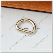 """1/2"""" metal d ring"""