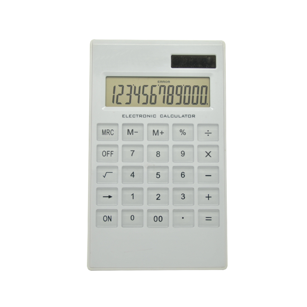 Dual Power Super Thin Office Desk Calculator
