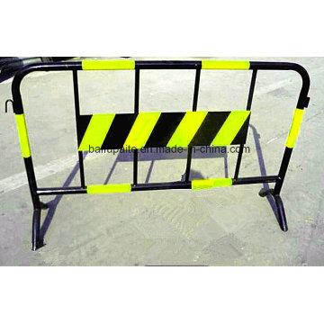 Barreiras de controle de multidão Barreiras de tráfego de barreira Municiple Barreiras temporárias