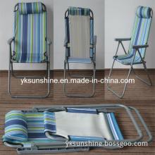 Foldable Adjustable Beach Chair (XY-138C)