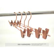 Rose Copper Gold Aluminium Trousers Skirt Metal Hanger