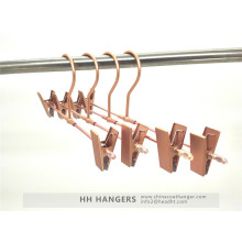 Rose Copper Gold Aluminium Trousers Skirt Metal Hanger