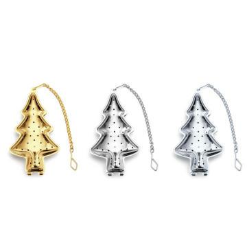Infuser do chá da árvore de Natal