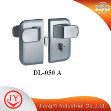 Stainless Steel Glass Door Lock With Lever