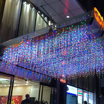 Stecken Sie Fairy Icicle String Christmas Light ein