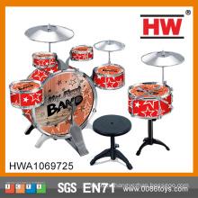 Игрушки высокого качества пластичные малыши музыкальные игрушки барабанчика джаза