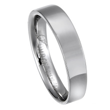 Fashion Jewelry Stainless Steel Jewellery Wave Design Diamond Wedding Ring
